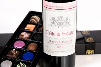 Wine and Chocolate Gift Box