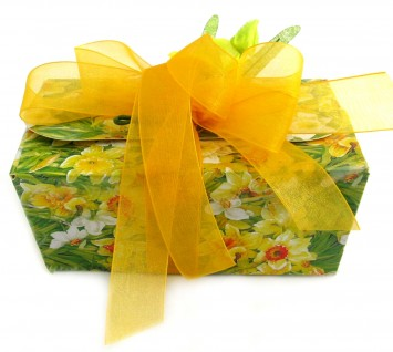 Floral Easter gift chocolates