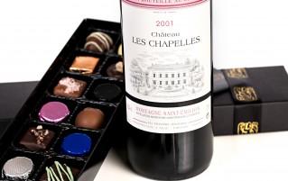Chocolate and Wine Gift Box