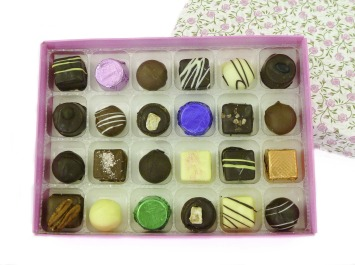 Floral Chocolate Gift Box